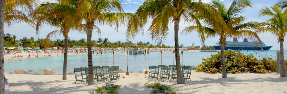 Castaway Cay Beach Disney Cruise Line Weddings Disney S Fairy Tale Weddings