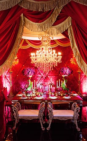 Decor Beauty And The Beast Inspired Grand Reception