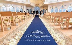Ceremony Decor: Custom Aisle Runners | Disney Weddings
