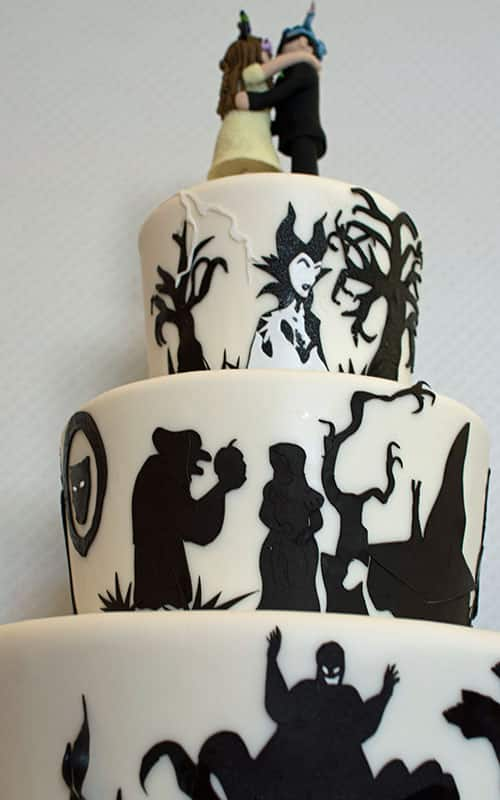 Wedding Cake Wednesday Disney Villain Takeover Disney Weddings