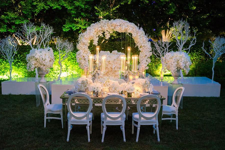 Disney weddings 2018 decor trends disney weddings we have noticed that brides are requesting extremely elegant weddingsbut not old fashioned adding whimsical elements can take a classy junglespirit Image collections