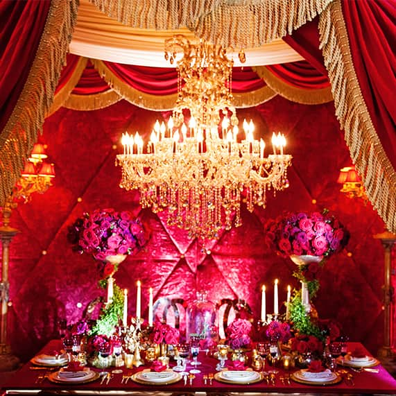 decor beauty and the beast inspired grand reception disney weddings. Black Bedroom Furniture Sets. Home Design Ideas