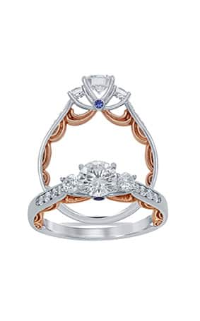 announcing enchanted disney fine jewelry engagement rings - Disney Inspired Wedding Rings