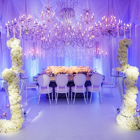 Decor Disney Cinderella Inspired Wedding Reception Disney