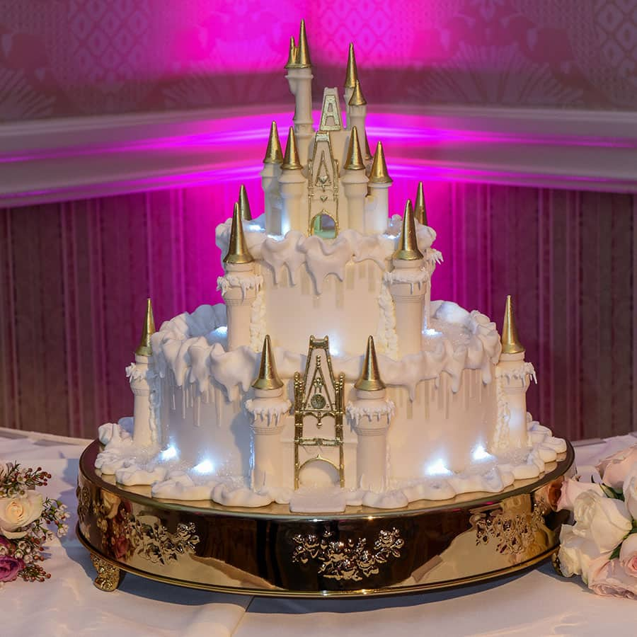 cinderella wedding cakes wedding cake wednesday wintertime at cinderella castle 12863
