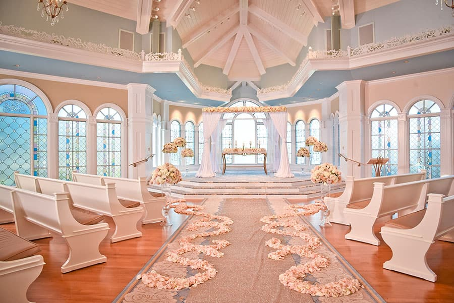 One Pavilion Three Looks Romance Decor Disney Weddings Disney