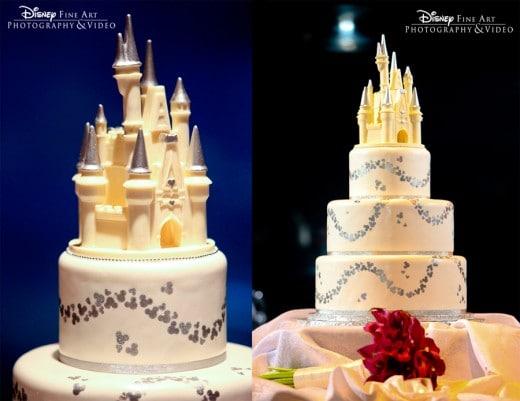 Wedding Cake Wednesday: Cinderella Castle Topper | Disney Weddings