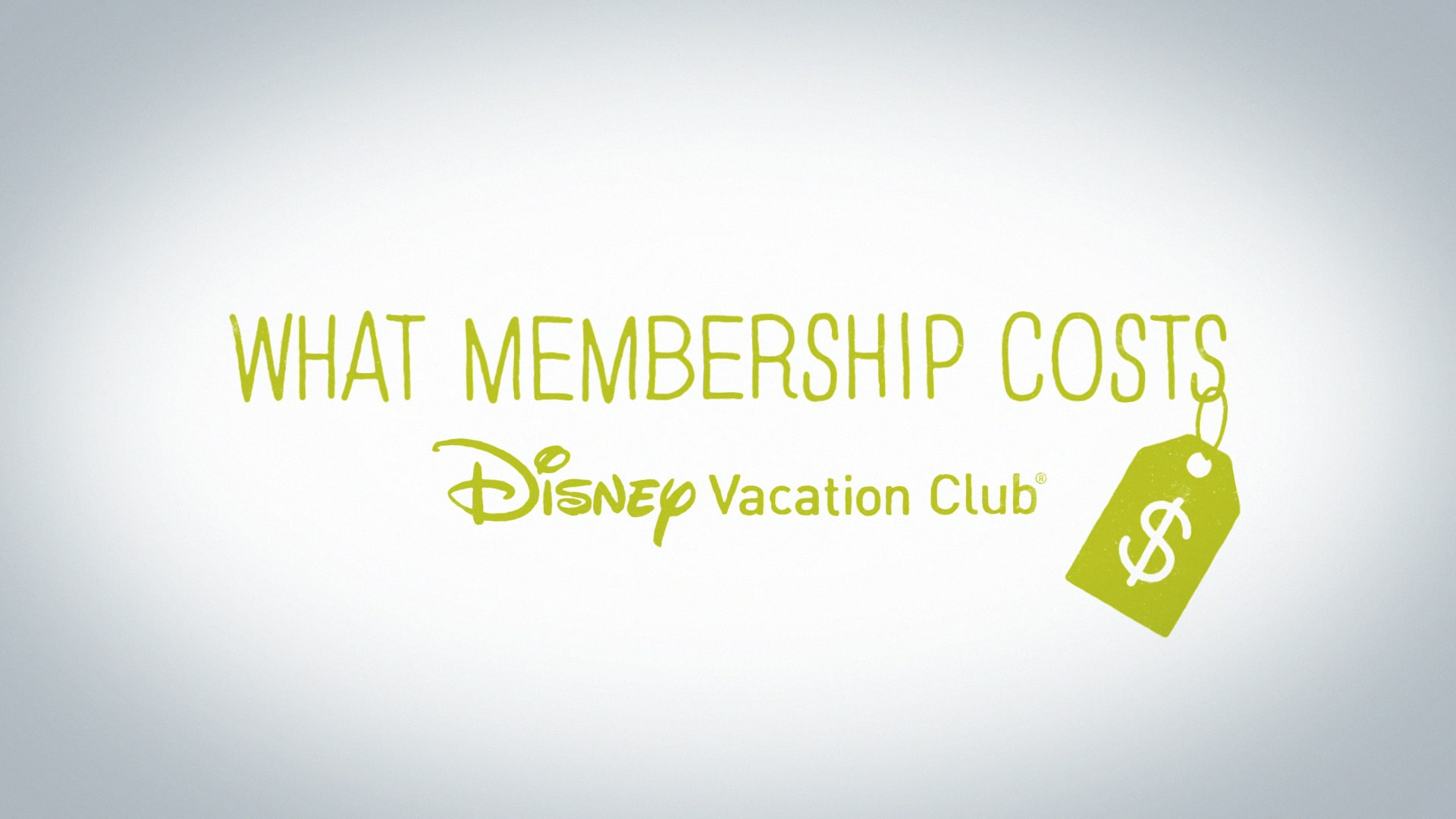 Membership Costs  Pricing  Disney Vacation Club
